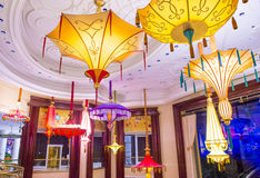 Εγκατάσταση λουλουδιών ξενοδοχείων του Λας Βέγκας Wynn Στοκ εικόνες με δικαίωμα ελεύθερης χρήσης