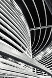Εγκατάσταση τέχνης στην ομοσπονδία τετραγωνική Μελβούρνη στοκ φωτογραφία