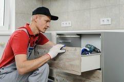 Εγκατάσταση της κουζίνας στοκ φωτογραφία με δικαίωμα ελεύθερης χρήσης