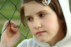 εγκαταλείψτε το κορίτσ& Στοκ Εικόνες