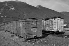 Εγκαταλειμμένα κινητά αποθέματα εξοπλισμού σε Silverton στοκ εικόνες