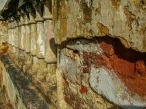 Εγκαταλειμμένες στήλες Στοκ Εικόνα