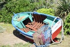 εγκαταλειμμένη αλιεία β& Στοκ Εικόνα