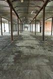 εγκαταλειμμένη αποθήκη εμπορευμάτων Στοκ Εικόνα