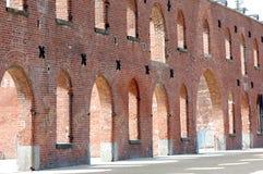 εγκαταλειμμένη αποθήκη εμπορευμάτων Στοκ εικόνες με δικαίωμα ελεύθερης χρήσης