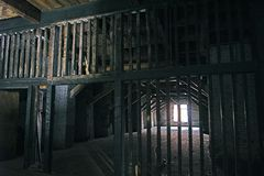 εγκαταλειμμένη αποθήκη Στοκ Φωτογραφία