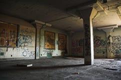 εγκαταλειμμένη αποθήκη &epsi Στοκ φωτογραφία με δικαίωμα ελεύθερης χρήσης