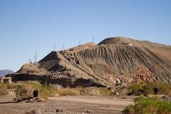 εγκαταλειμμένη δομή ορυχείων Στοκ φωτογραφία με δικαίωμα ελεύθερης χρήσης