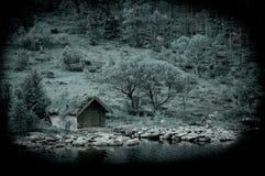 εγκαταλειμμένη καλύβα Στοκ φωτογραφία με δικαίωμα ελεύθερης χρήσης