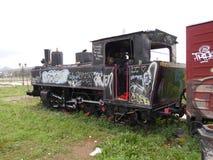 Εγκαταλειμμένη μηχανή τραίνων Στοκ Εικόνες