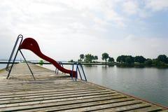 Εγκαταλειμμένη πισίνα Στοκ Εικόνα