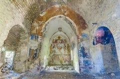 εγκαταλειμμένη πόλη της Ισπανίας janovas στοκ εικόνα με δικαίωμα ελεύθερης χρήσης