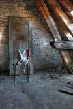εγκαταλειμμένη σοφίτα Στοκ εικόνα με δικαίωμα ελεύθερης χρήσης