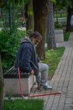 Εγκαταλειμμένοι άνθρωποι στοκ εικόνα με δικαίωμα ελεύθερης χρήσης