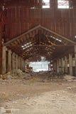 Εγκαταλειμμένος βιομηχανικός φούρνος Στοκ εικόνα με δικαίωμα ελεύθερης χρήσης