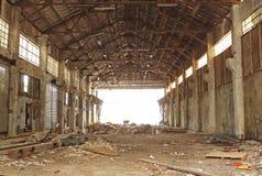 Εγκαταλειμμένος βιομηχανικός φούρνος Στοκ Εικόνα