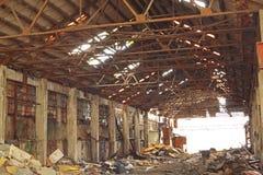 Εγκαταλειμμένος βιομηχανικός φούρνος Στοκ Εικόνες