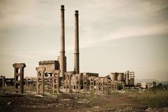 εγκαταλειμμένος βιομηχανικός Στοκ Εικόνα