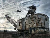 εγκαταλειμμένος εκσκ&alp στοκ εικόνα