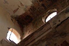 Εγκαταλειμμένος σιδηροδρομικός σταθμός στο Albacete στοκ εικόνες με δικαίωμα ελεύθερης χρήσης