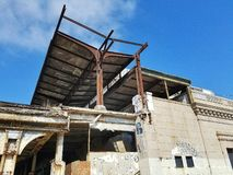 Εγκαταλειμμένος το Όουκλαντ σταθμός τρένου στοκ εικόνες με δικαίωμα ελεύθερης χρήσης