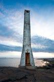 εγκαταλειμμένος φάρος Στοκ εικόνα με δικαίωμα ελεύθερης χρήσης