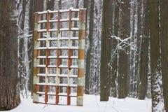 Εγκαταλειμμένο έδαφος παιχνιδιού Στοκ Εικόνα