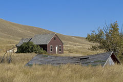 εγκαταλειμμένο αγροτι&ka Στοκ Εικόνες