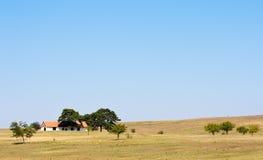 εγκαταλειμμένο αγροτι&ka Στοκ Εικόνα