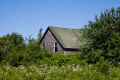 Εγκαταλειμμένο αγρόκτημα Στοκ Φωτογραφία