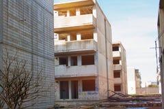 Εγκαταλειμμένο ατελές σπίτι Στοκ Φωτογραφίες