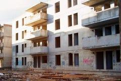 Εγκαταλειμμένο ατελές σπίτι Στοκ εικόνες με δικαίωμα ελεύθερης χρήσης
