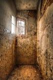 εγκαταλειμμένο δωμάτιο στοκ φωτογραφία