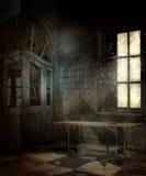εγκαταλειμμένο δωμάτιο &n απεικόνιση αποθεμάτων