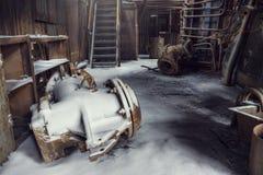 Εγκαταλειμμένο εργοστάσιο Στοκ φωτογραφίες με δικαίωμα ελεύθερης χρήσης