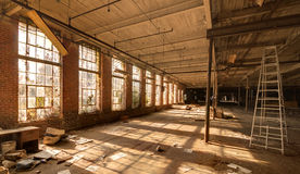 εγκαταλειμμένο εργοστ στοκ φωτογραφία με δικαίωμα ελεύθερης χρήσης