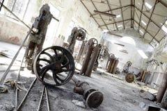 εγκαταλειμμένο εργοστ Στοκ φωτογραφίες με δικαίωμα ελεύθερης χρήσης