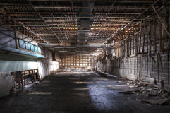 εγκαταλειμμένο κατάστημα στοκ εικόνα