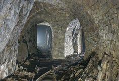 εγκαταλειμμένο ορυχεί&omi στοκ φωτογραφία
