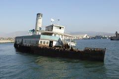 εγκαταλειμμένο σκάφος θάλασσας lions04 Στοκ φωτογραφίες με δικαίωμα ελεύθερης χρήσης
