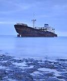 εγκαταλειμμένο σκάφος Στοκ Φωτογραφίες