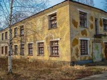 Εγκαταλειμμένο σπίτι ή objekts στα ruines Στοκ εικόνες με δικαίωμα ελεύθερης χρήσης