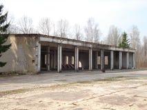 Εγκαταλειμμένο σπίτι ή objekts στα ruines Στοκ Φωτογραφία