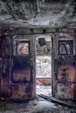 Εγκαταλειμμένο σπίτι ανθρώπων Στοκ Φωτογραφία