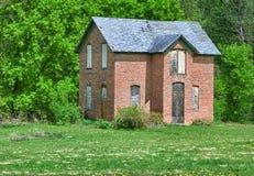 Εγκαταλειμμένο σπίτι λιβαδιών Στοκ Εικόνα