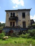 εγκαταλειμμένο σπίτι στοκ εικόνες