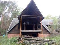 Εγκαταλειμμένο στρατόπεδο στοκ εικόνα