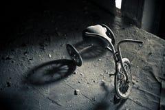 εγκαταλειμμένο τρίκυκλο Στοκ φωτογραφία με δικαίωμα ελεύθερης χρήσης
