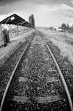 εγκαταλειμμένο τραίνο σ&ta Στοκ φωτογραφίες με δικαίωμα ελεύθερης χρήσης