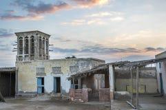 Εγκαταλειμμένο χωριό σε RAK, Ε.Α.Ε. Στοκ φωτογραφία με δικαίωμα ελεύθερης χρήσης